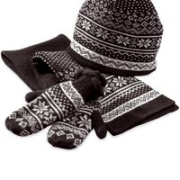 Hats, scarves and other items