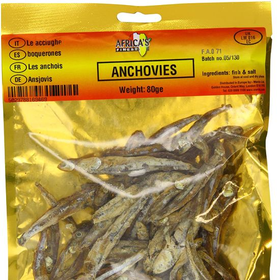 Africa's Finest Dried Anchovies