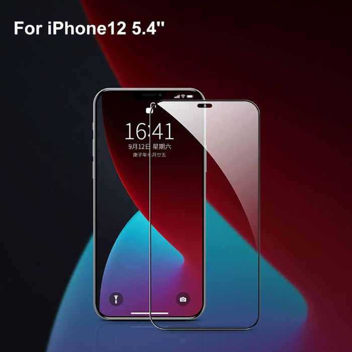 Full Cover Protective Glass Tempered Glass Screen Protector 9D Protective Glass For iPhone 12 / Pro / Pro Max