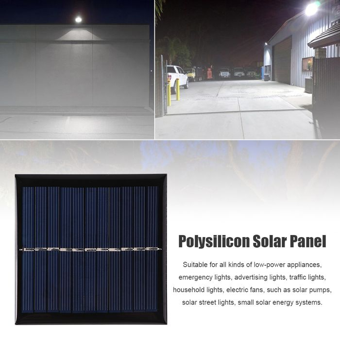 Solar Panel  5.5V  Mini Solar System DIY For Battery Cell Phone Chargers Portable Solar Cell  1W